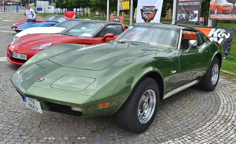 Corvette sraz Praha 2012: velká fotogalerie: - fotka 7