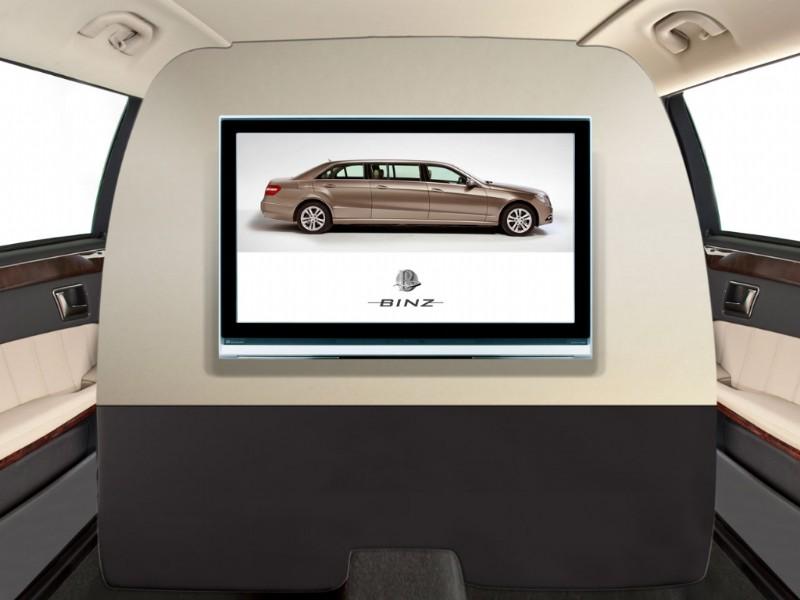 Binz: šest dveří pro Mercedes-Benz třídy E: - fotka 5