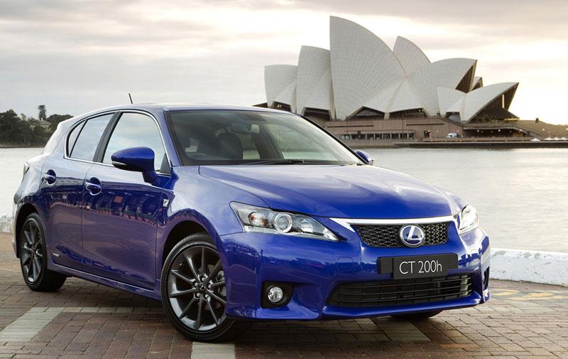 Lexus CT 200h F-Sport: debut na Sydney Motor Show: - fotka 1