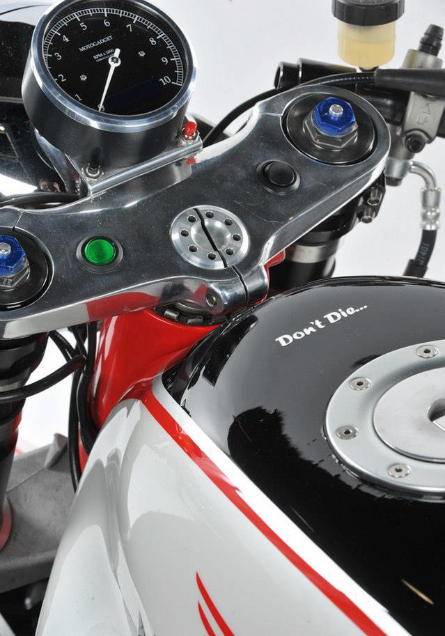 Ducati Cafe Racer od Moto Brilliance: - fotka 1