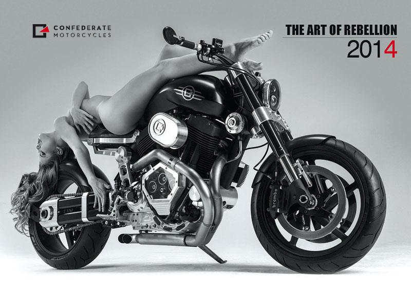 Confederate Motorcycles - kalendář pro rok 2014: - fotka 1