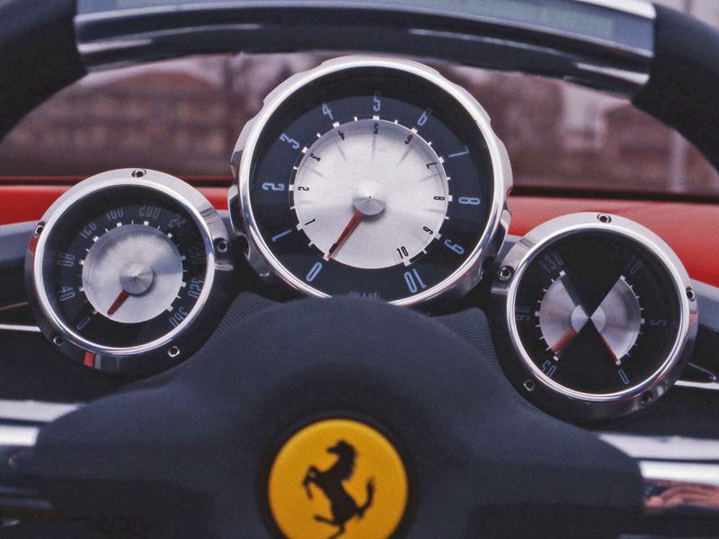 Pod lupou: Pininfarina Ferrari Rossa (2000) - Speedster k narozeninám: - fotka 1