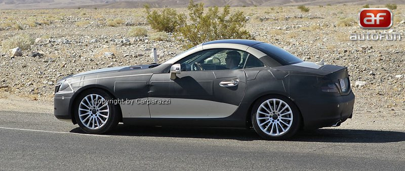Spy Photos: Mercedes-Benz SLK 35 AMG (63 AMG?): - fotka 3