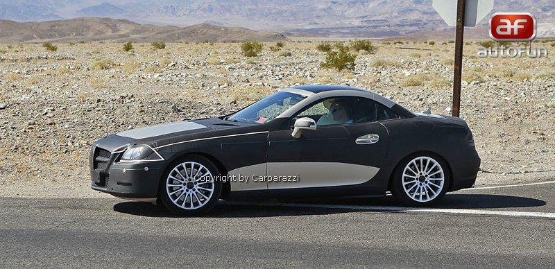 Spy Photos: Mercedes-Benz SLK 35 AMG (63 AMG?): - fotka 4