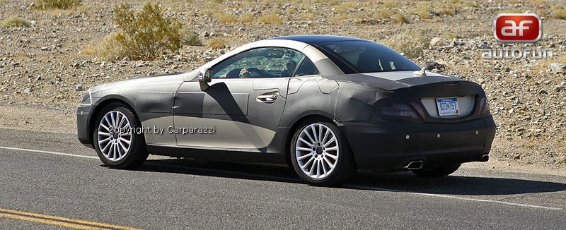 Spy Photos: Mercedes-Benz SLK 35 AMG (63 AMG?): - fotka 5