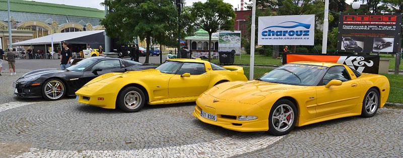 Corvette sraz Praha 2012: velká fotogalerie: - fotka 10