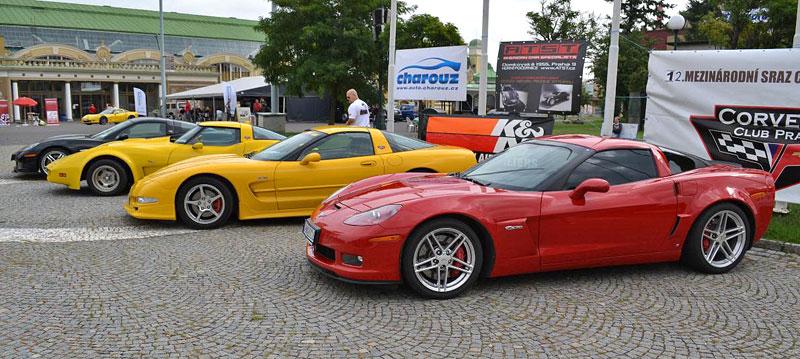 Corvette sraz Praha 2012: velká fotogalerie: - fotka 13