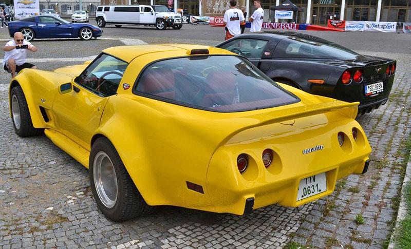 Corvette sraz Praha 2012: velká fotogalerie: - fotka 15