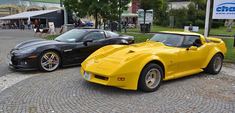 Corvette sraz Praha 2012: velká fotogalerie: - fotka 16
