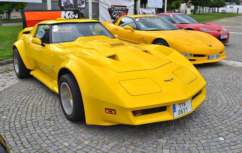 Corvette sraz Praha 2012: velká fotogalerie: - fotka 17