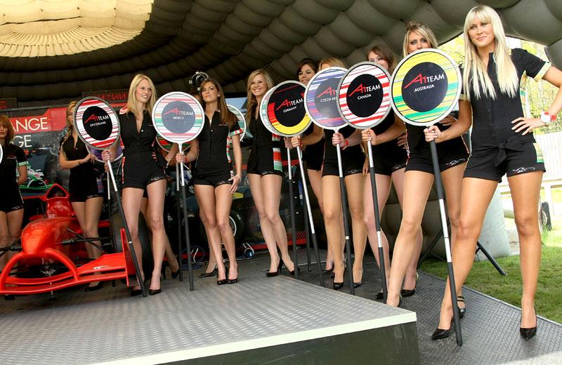 A1GP - Grid Girls: - fotka 4