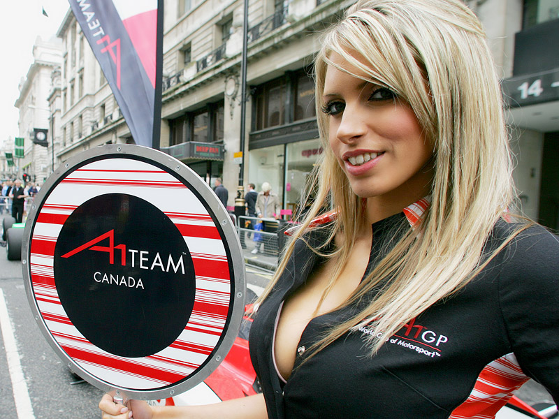 A1GP - Grid Girls: - fotka 18
