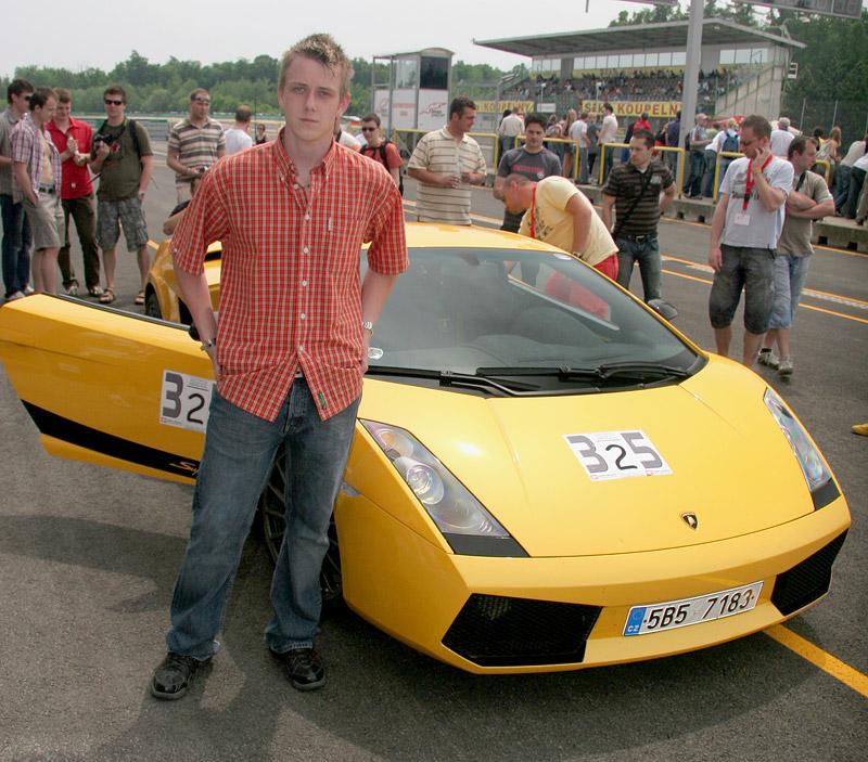 Svezl jsem se v Lamborghini Gallardo Superleggera: - fotka 1