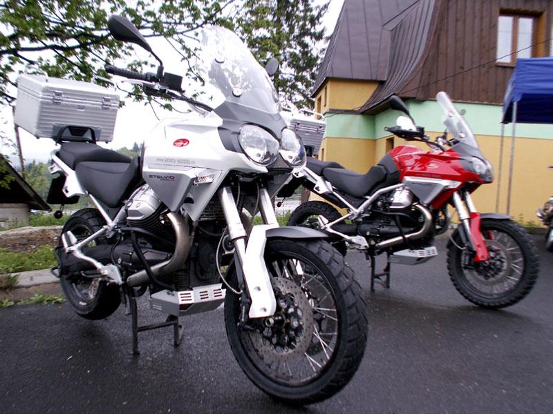 Aprilia a Moto Guzzi den 2008: - fotka 1
