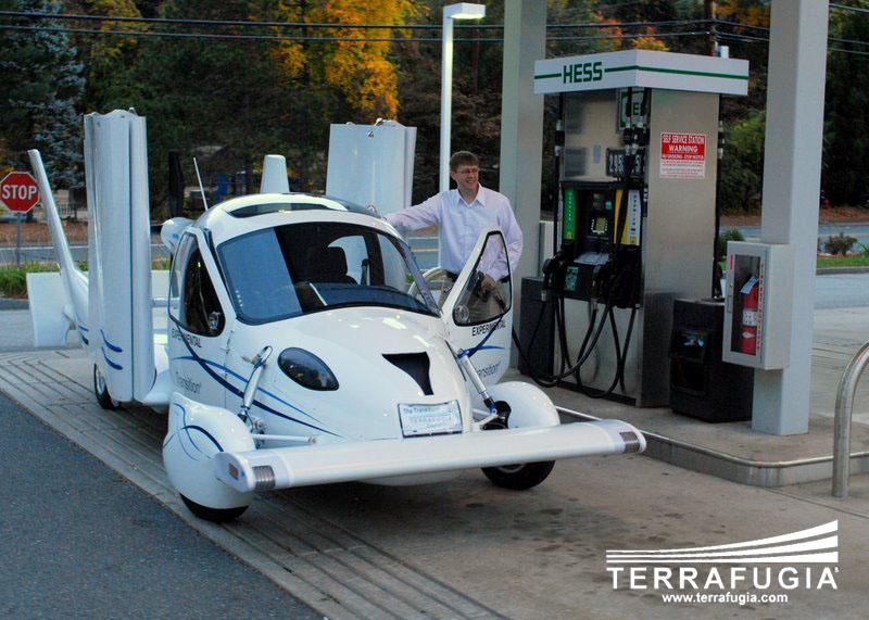 Terrafugia Transition: letadlo schopné jízdy po silnici: - fotka 1