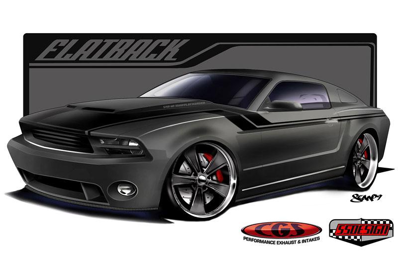 FlatBack Mustang: specialita od CGS Motorsports: - fotka 1