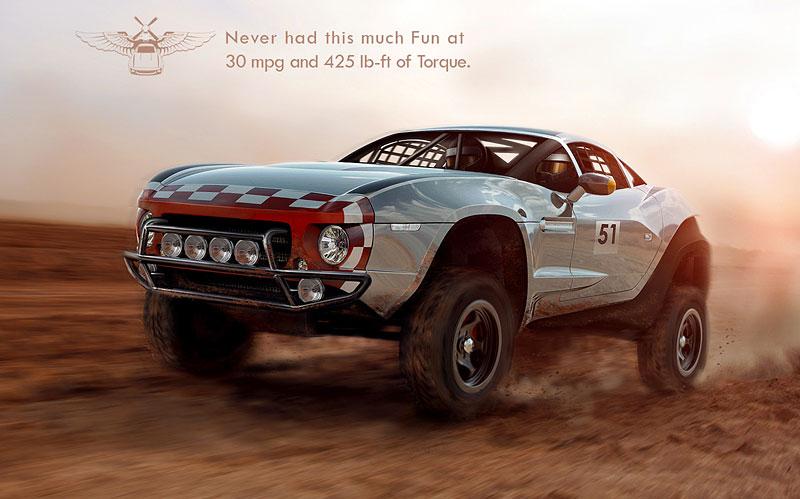 Local Motors Rally Fighter: off-road inspirovaný stíhačkou: - fotka 1