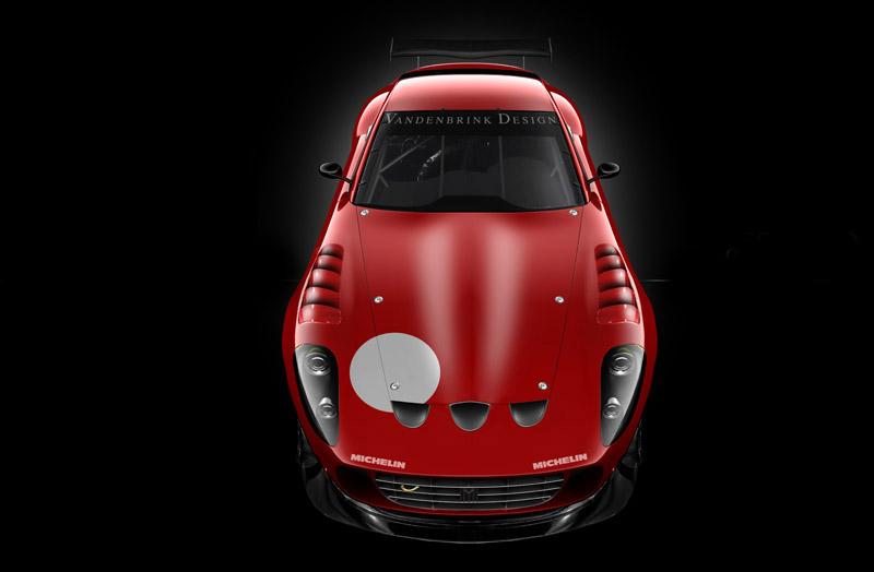 Vandenbrink chystá zakázkové závodní Ferrari 599 Ecuire GTX: - fotka 1