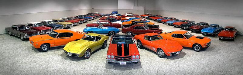 RM Auctions připravuje dražbu klasických muscle cars: - fotka 1
