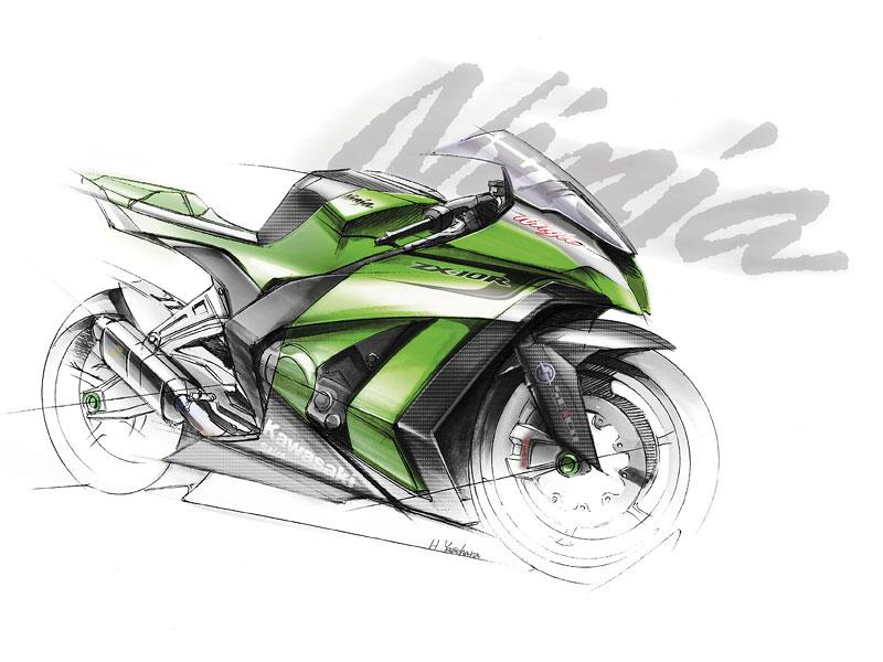 Kawasaki ZX-10R Ninja 2011 – zelená výzva: - fotka 1