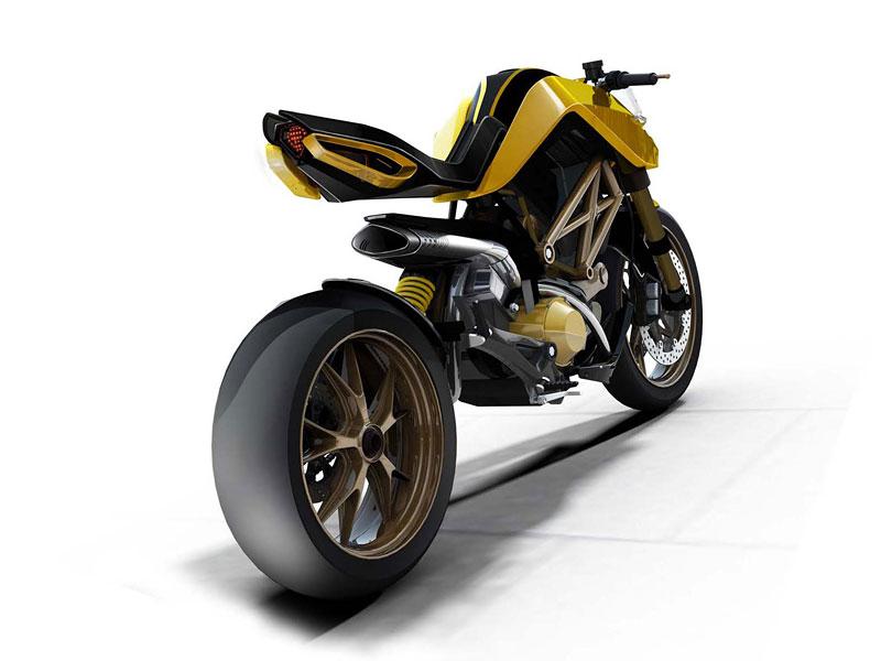 Ducati Students Concept – mládí vpřed: - fotka 1