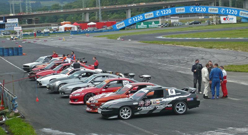 Czech Drift Series 2010 Sosnová: fotogalerie ze závěrečného závodu: - fotka 1