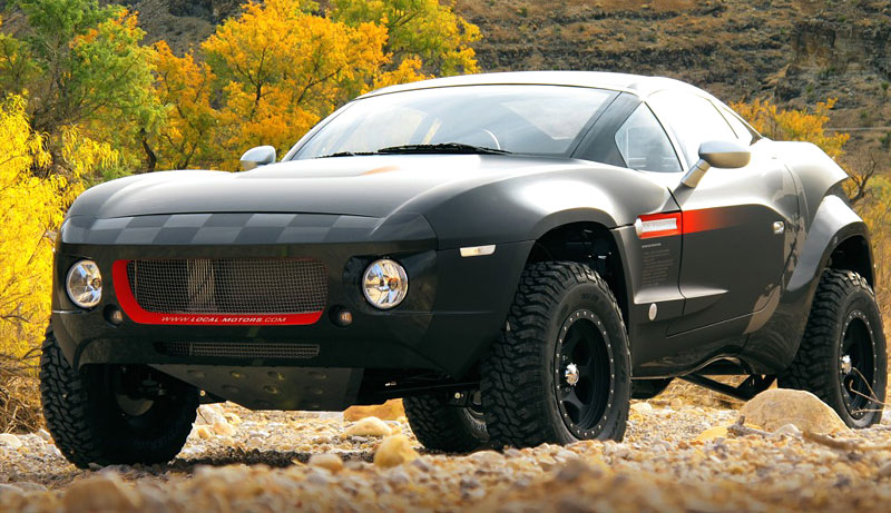 Local Motors Rally Fighter: open-source offroad: - fotka 1