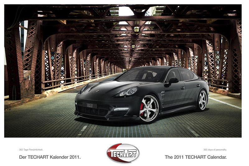 TechArt představuje kalendář na rok 2011: - fotka 1