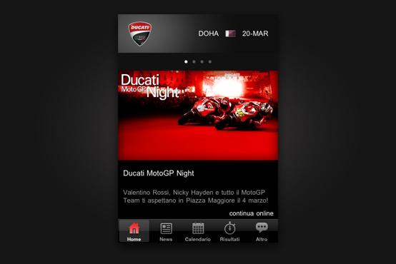 Ducati Corse: aplikace pro iPhone aneb svět Moto GP pod palcem: - fotka 1