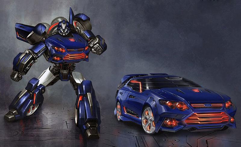 Ford Falcon XR6 jako nový Transformer Falcatron: - fotka 1