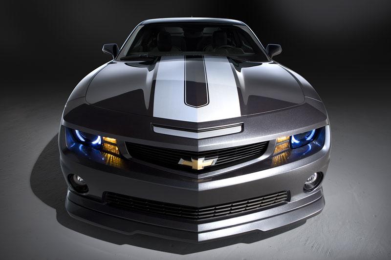 SEMA 2010: Chevrolet Camaro SSX Track Car Concept ...a ti druzí: - fotka 7