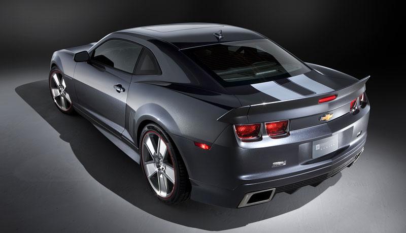 SEMA 2010: Chevrolet Camaro SSX Track Car Concept ...a ti druzí: - fotka 9