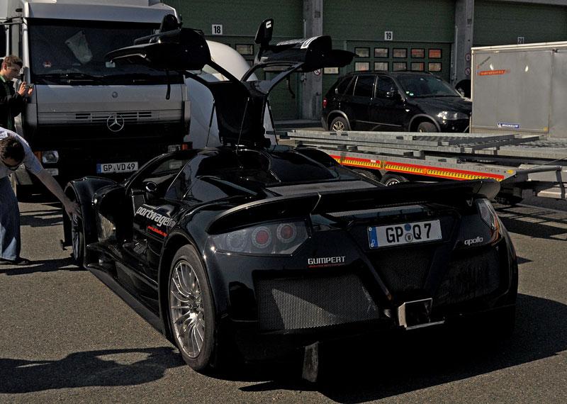 Fotoreportáž: setkání Klubu sportovních aut Brno 2012: - fotka 22