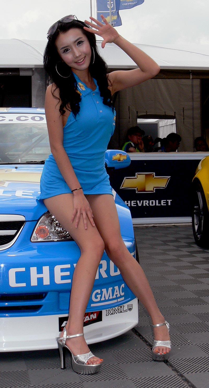 Valencia WTCC Babes: - fotka 27