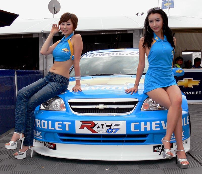 Valencia WTCC Babes: - fotka 28