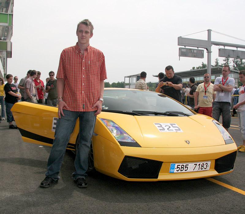 Svezl jsem se v Lamborghini Gallardo Superleggera: - fotka 2