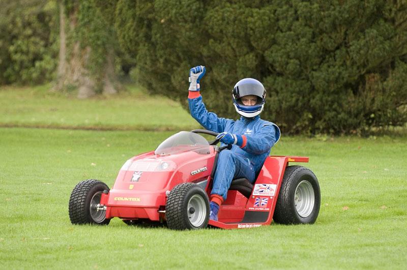 Countax: pracuje se na nejrychlejší sekačce na trávu: - fotka 2