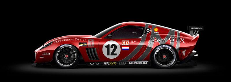 Vandenbrink chystá zakázkové závodní Ferrari 599 Ecuire GTX: - fotka 2