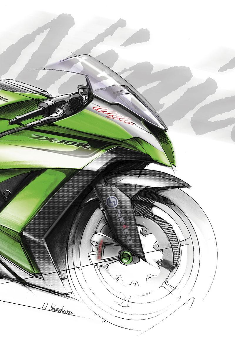 Kawasaki ZX-10R Ninja 2011 – zelená výzva: - fotka 2