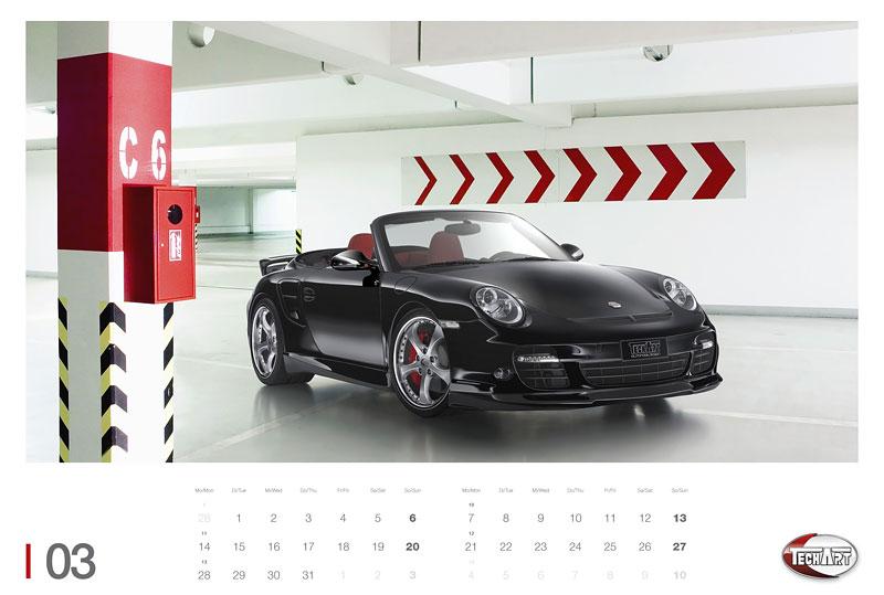 TechArt představuje kalendář na rok 2011: - fotka 2