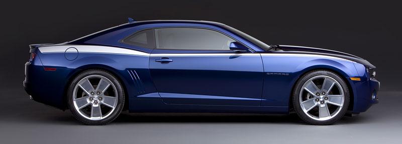 SEMA 2010: Chevrolet Camaro SSX Track Car Concept ...a ti druzí: - fotka 12