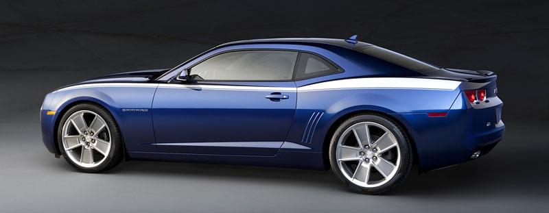 SEMA 2010: Chevrolet Camaro SSX Track Car Concept ...a ti druzí: - fotka 13