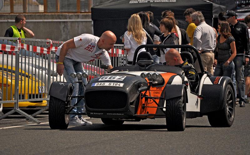 Fotoreportáž: setkání Klubu sportovních aut Brno 2012: - fotka 80