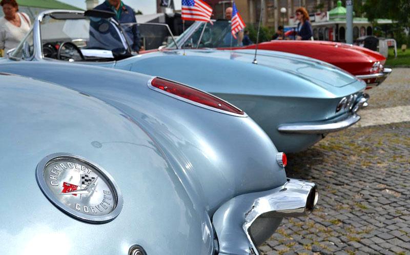 Corvette sraz Praha 2012: velká fotogalerie: - fotka 33