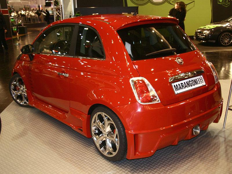Essen 2007: Fiat 5-0-0 Super TRC Marangoni – Rozzlobená beruška: - fotka 3