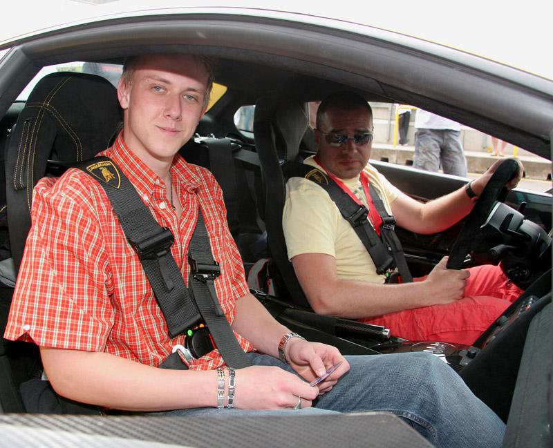 Svezl jsem se v Lamborghini Gallardo Superleggera: - fotka 3