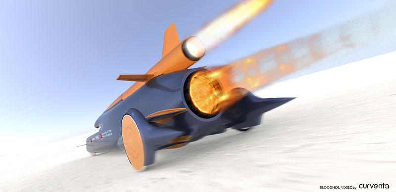 Bloodhound SSC: Pokoří rychlost 1000 mil v hodině?: - fotka 2