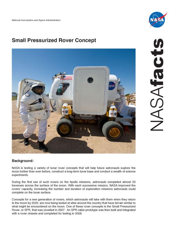 Nové lunární vozítko: fotografie z arizonských testů: - fotka 3