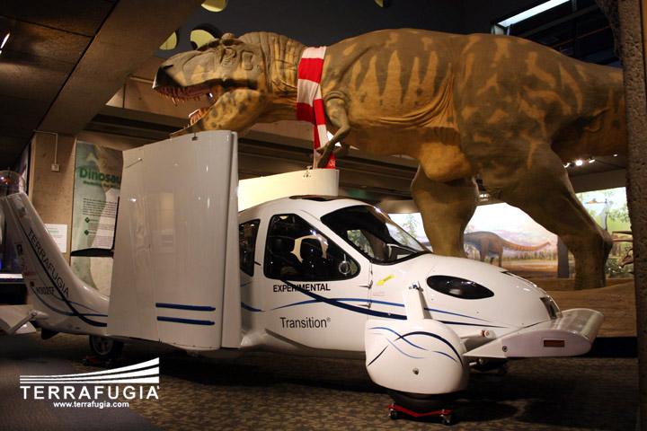 Terrafugia Transition: letadlo schopné jízdy po silnici: - fotka 3