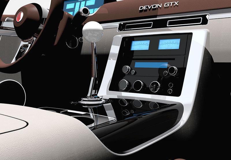 Devon Motor Works GTX: premiéra na Pebble Beach Concours d´Elegance: - fotka 1